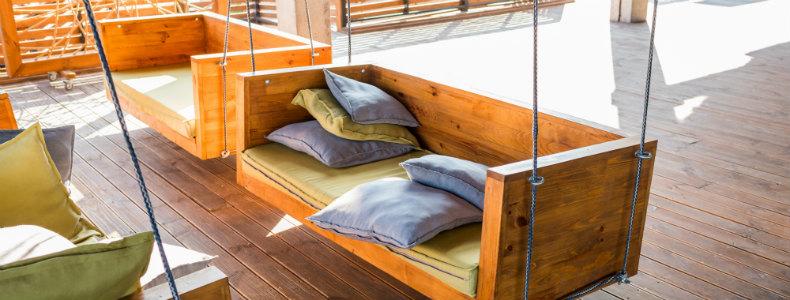 Cómo proteger un mueble de madera para exteriores con Madetec